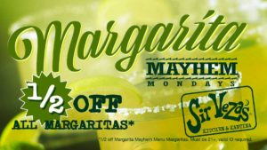Margarita Mayhem Mondays